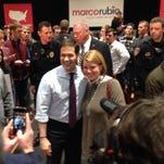 8 Photos: Marco Rubio campaigns in Cedar Falls