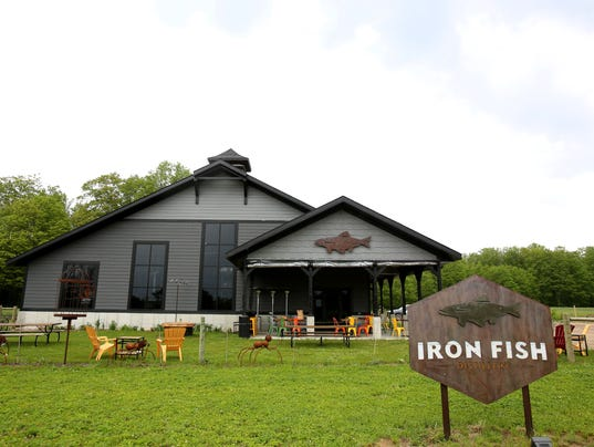 Soil to spirits distillery farms its own ingredients up north for Iron fish distillery thompsonville mi