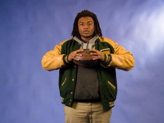 Edward Yokum: Crowley High School, Senior, Line Backer