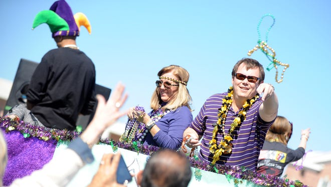 This year's Caerus Mardi Gras Parade is set for Feb. 11.