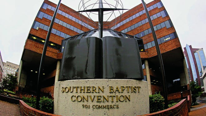 """The headquarters of the Southern Baptist Convention in Nashville. The convention is encouraging its members to marry younger and avoid sexual sin. Some pastors want members to get themselves """"marryable"""" sooner."""