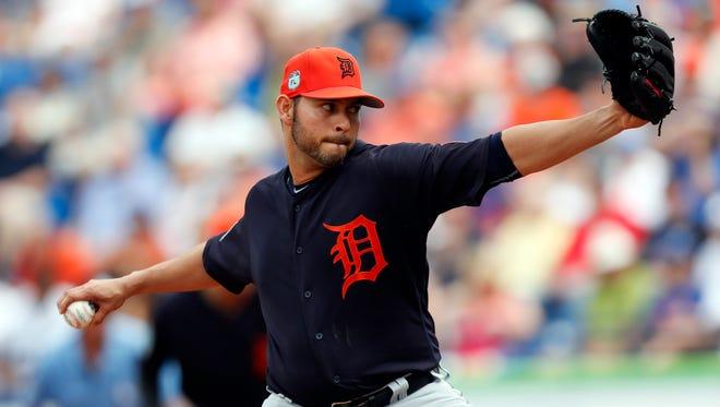 Detroit Tigers pitcher Anibal Sanchez