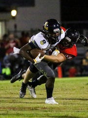 Lehigh played South Fort Myers in their football Friday night.