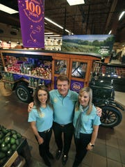 After 100 years, the Wegmans family-owned tradition continues with CEO Danny Wegman, center, and his daughters, Nicole and Colleen.