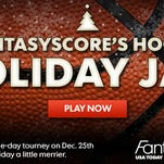 Play FantasyScore's Hoops Holiday Jam and win cash to stuff your stocking.