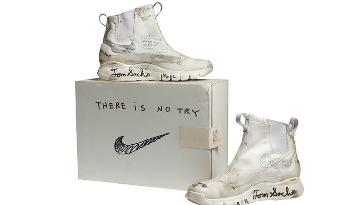 NikeCraft Lunar Underboot Aeroply Experimentation Research Boot Prototype, 2008–12.