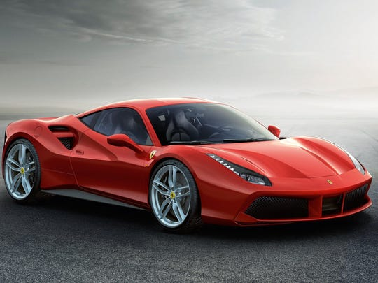 Ferrari 488 GTB is the first Ferrari in years to use turbocharged power rather than natural aspiration.