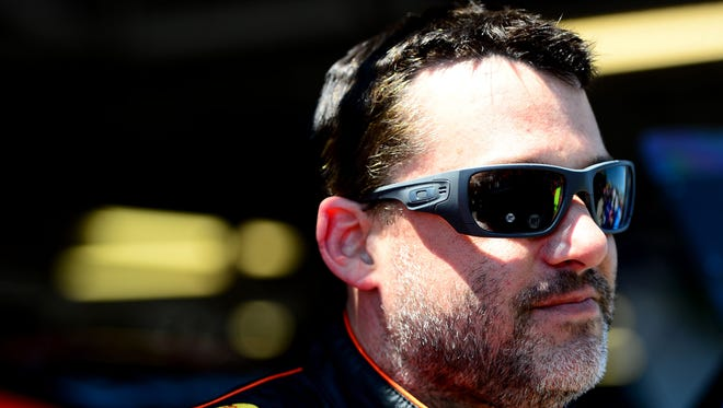 Tony Stewart, who recently joined Twitter, says he's enjoying the social media medium more than he expected.