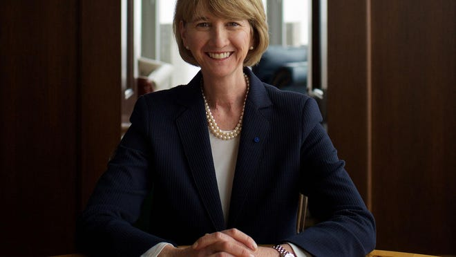 Kristina M. Johnson appointed 16th president of The Ohio State University, Wednesday, June 3, 2020.