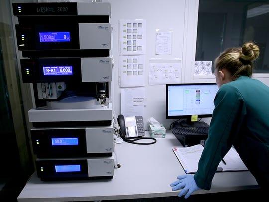 Champlain Valley Dispensary Lab Supervisor Samantha