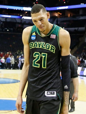 Isaiah Austin was known as a shot-blocker as Baylor's starting center.