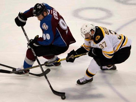 Bruins Avalanche Hockey