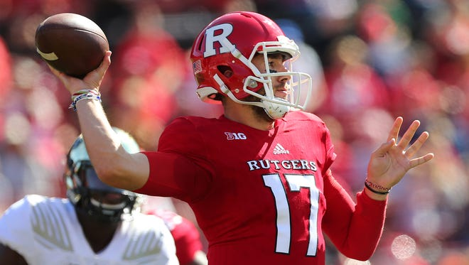 Giovanni Rescigno (Macomb Township) is expected to share duties with Artur Sitkowski at quarterback for Rutgers.