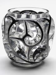 """Tourbillons"" vase, designed 1926, made by René Lalique"