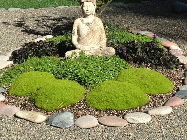 Homemade Zen Garden Low Maintenance