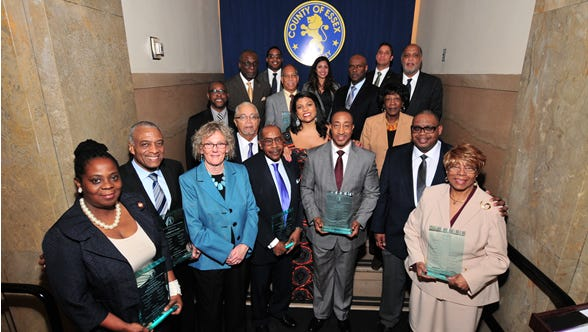 The Essex County Board of Chosen Freeholders recognized prominent African-American citizens during its African-American History Month Celebration on Feb. 22.