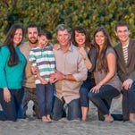 The Desovich family includes parents Tina and Derek with William, 7; Braden, 14; Thomas, 25; Lauren, 29; and Jaclyn, 31.