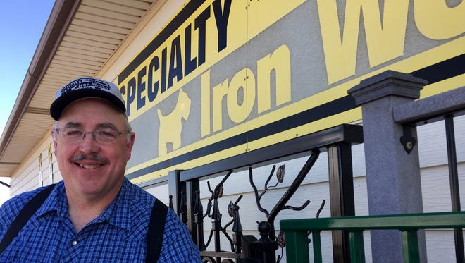 Steve Benjamin marked 30 years since sending his first invoice for  Specialty Iron Works .