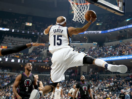 17e278a8573 Los Angeles Clippers guard Jamal Crawford elevated over Grizzlies floor  general Mike Conley and buried a baseline 3-pointer in front of the home  team s ...