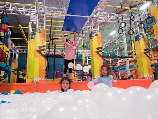 Kids in az will have a blast at a new trampoline park in for Ball pits near me