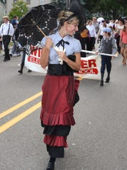 Rabacca Plenchette marches in the Sept. 16 Northville