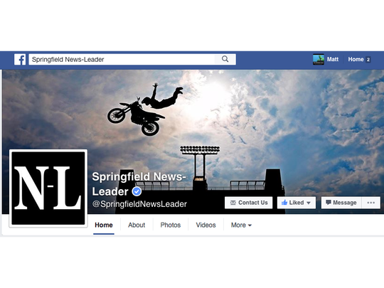 The Springfield News-Leader Facebook page.