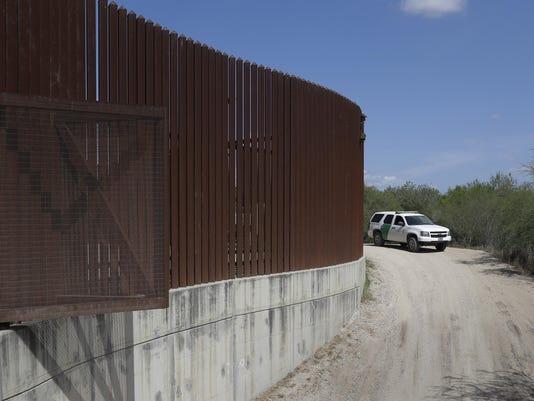 Harvey Border Wall