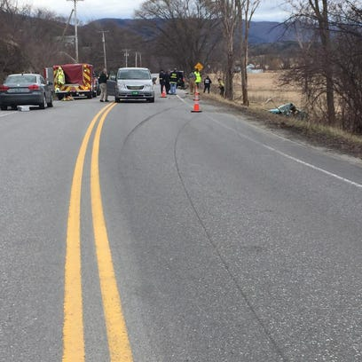 Bicyclist and driver both dead after crash in Hinesburg