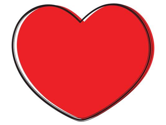 Heart, love. Vector illustration