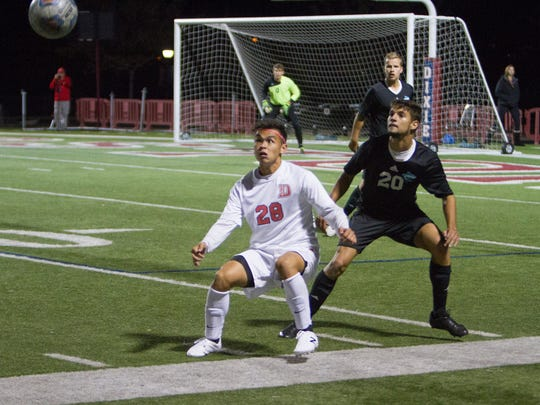The Dixie State men's soccer team took on Hawai'i Pacific Thursday night at Hansen Stadium. DSU won 3-1 and is just two wins away from claiming its first ever PacWest soccer title.