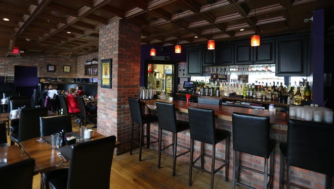 The bar area and dining room at Jolie's on New Valley Road in New City, June 2.