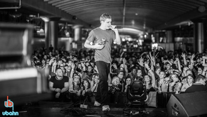 Cal Scruby performs at the inaugural UbahnFest in 2013. He will return to the 2015 UbahnFest, which is scheduled for Oct. 16-17.