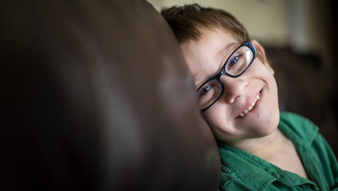 November 19, 2015: The family of William Bray, 6, of Edgewood didn't know he had dimples for the first 12 months of his life. William had to wear so much machinery as an infant, having had 100 surgeries before he turned one year old. William has cerebral palsy, and his mother gives him sponge baths because she can't lift him in and out of the bathtub. They are asking for a motorized lift, which costs $3063.