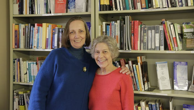 Astrid Hastak (left) will replace Pattie Wollenburg (right) as executive director of the National Alliance on Mental Illness (NAMI) West Central Indiana. Wollenburg retires after serving more than five years as executive director.