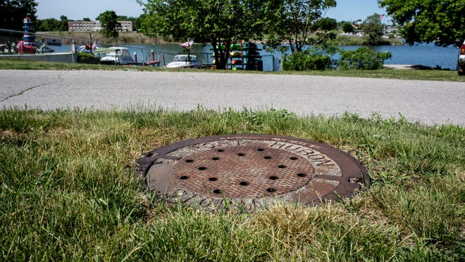 About 52,000 gallons of combined wastewater were released into the Black River