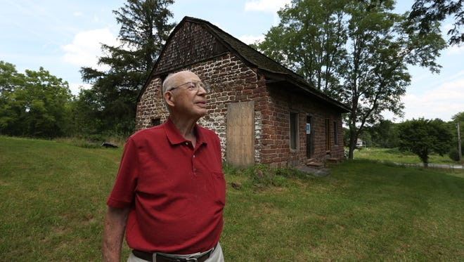 Heritage of West Nyack Chairman Bert Dahm at the Traphagen house in West Nyack Aug. 9, 2016.