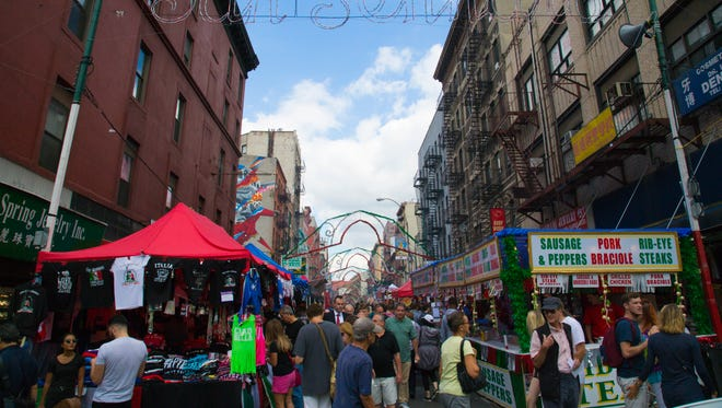 Little Italy's Feast of San Gennaro celebrates its 90th year in 2016.