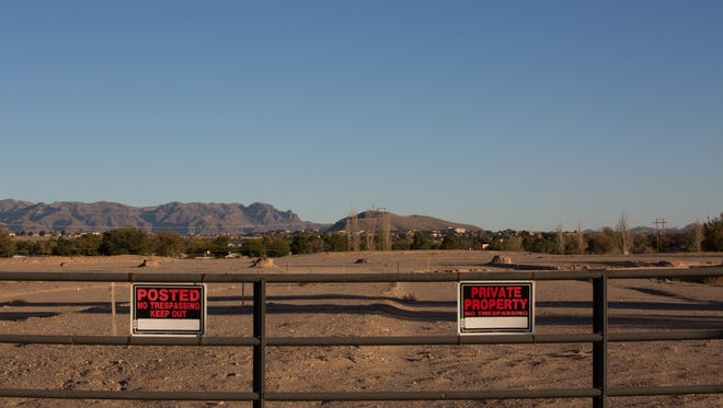 The 110-acre Las Cruces Country Club as it appeared Wednesday, looking south. Tuesday, Las Cruces Country Club, Inc., the former property owners,  by the Las Cruces Country Club Inc, filed for Chapter 7 Bankruptcy, in U.S. Bankruptcy Court, in Albuquerque.