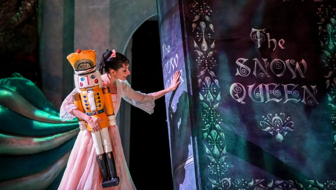 "Annia Hidalgo approaches a famous story in the Milwaukee Ballet's production of ""The Nutcracker."""