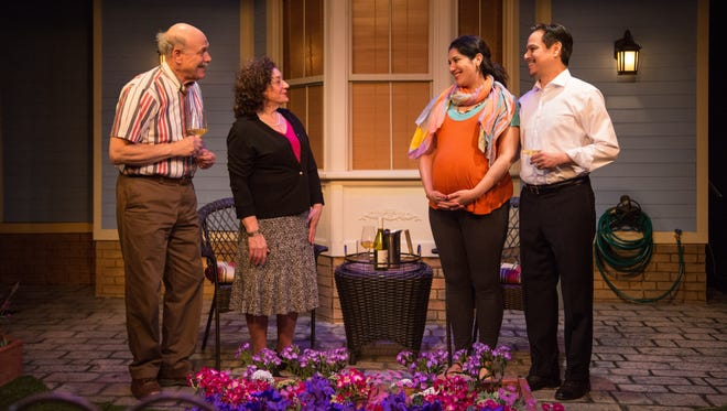 """Two couples face off over gardening (and more) in """"Native Gardens"""" by Vermont Stage."""