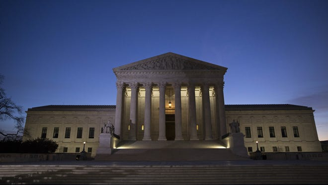 A view of the U.S. Supreme Court on Feb. 19, 2016.