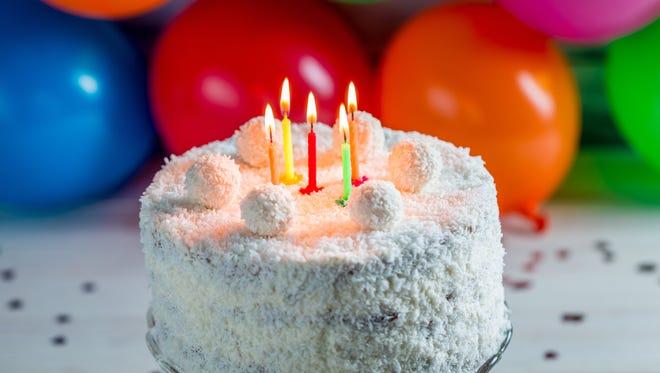 Celebrate birthdays with joy, gratitude and a coconut cake.
