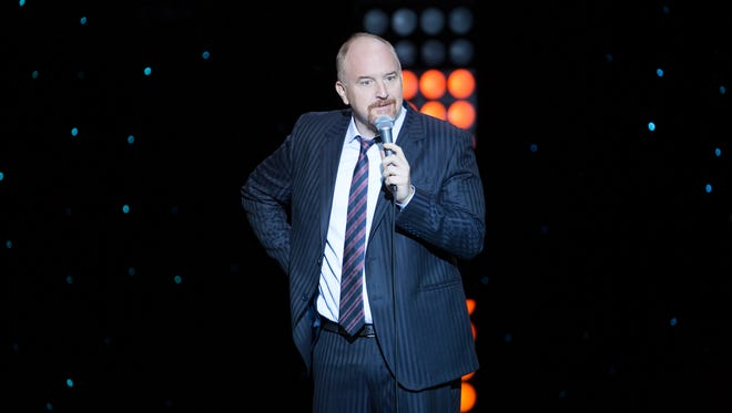 Louis CK in his new special for Netflix.