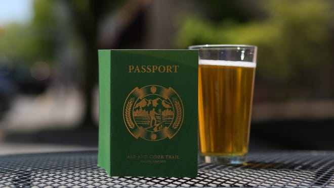 The Ale and Cider Trail passport guides participants through 12 Salem-area breweries and cideries, including Bauman's in Gervais and Rogue Farms Hopyard in Independence.