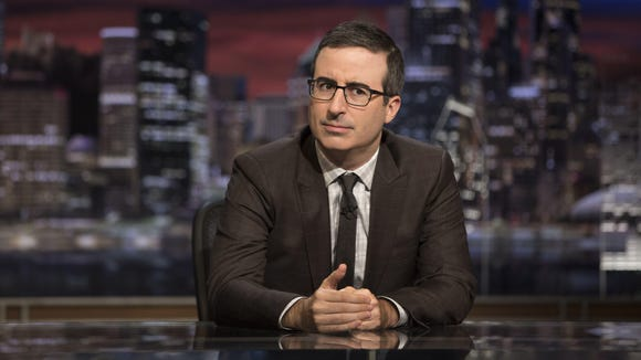 'Last Week Tonight' host John Oliver