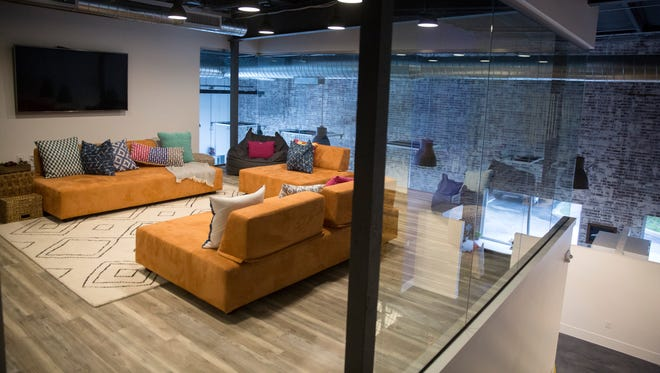 Pyure, a company that makes stevia, an organic sweetener, recently moved into this North Naples office space renovated over a year.
