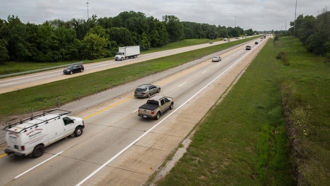A new rating system indicates that adding lanes to the Gene Snyder Freeway from Taylorsville Road to Interstate 71 is the most-needed highway project in the state. July 5, 2017.