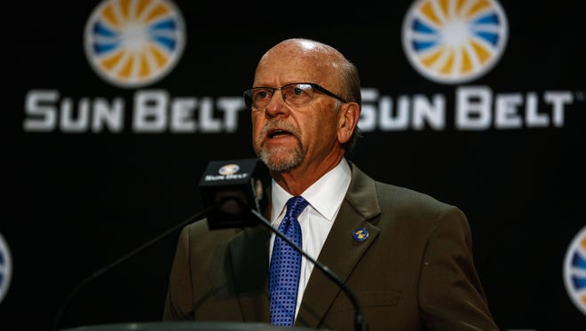 Karl Benson has been commissioner of the Sun Belt Conference since 2012.