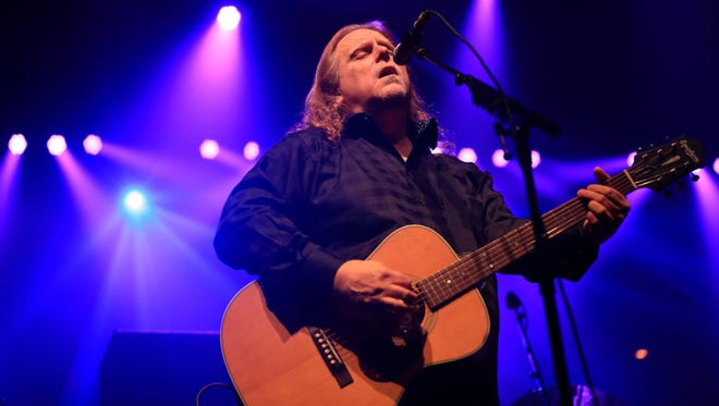 Buncombe County native Warren Haynes performs during his 2013 Christmas Jam at the U.S. Cellular Center. The lineup for this year's jam was announced Monday.