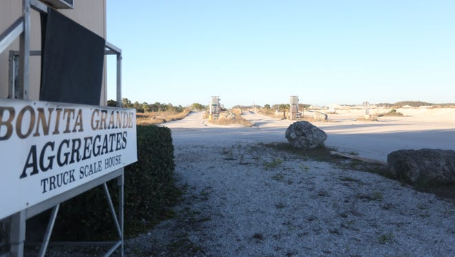 Bonita Grande Aggregates is an operational mine off Terry Street interested in switching to residential homes.